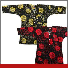 大薔薇/大バラ赤・黄の画像
