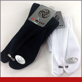 足袋用靴下 【白/紺】の画像