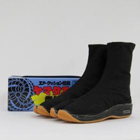 地下足袋 クッション入り 祭禮足袋 黒 7枚コハゼ サイズ22.5cm~29cm