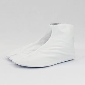 岡足袋 【特選】 白 晒裏(4枚コハゼ)日本製22.5~29cm