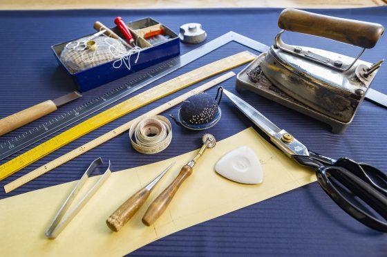 手作り足袋の縫い方手順は全部で9つの工程があります!